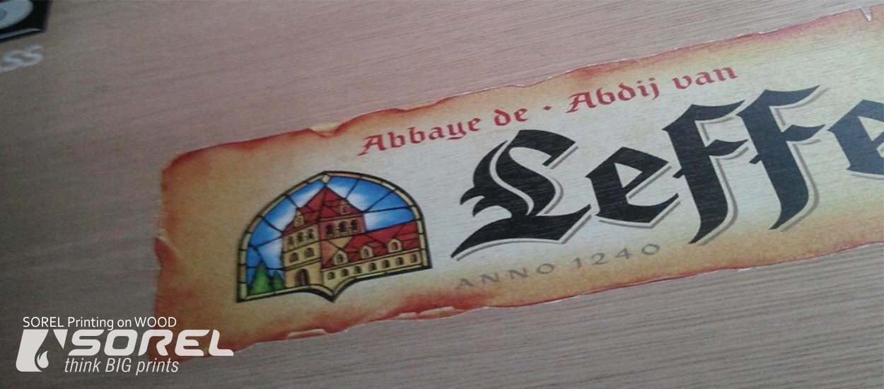 Direct Printing on Wood Sheet, our works